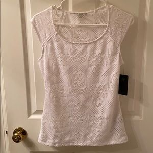 Guess Lexi Lace Top